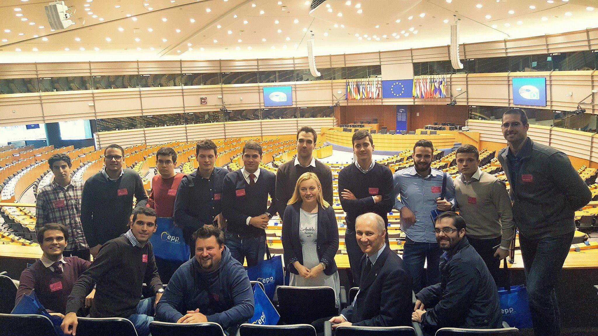 Sveučilišni klub Gradec u posjetu Europskom parlamentu u Bruxellesu