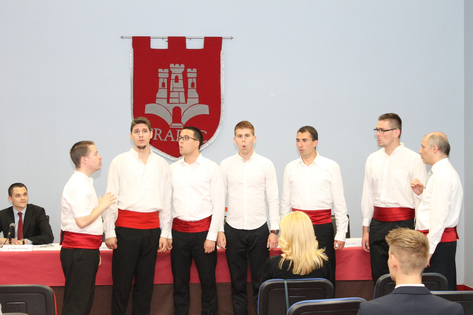 Klapa Gradec na 5. Festivalu studentskih klapa