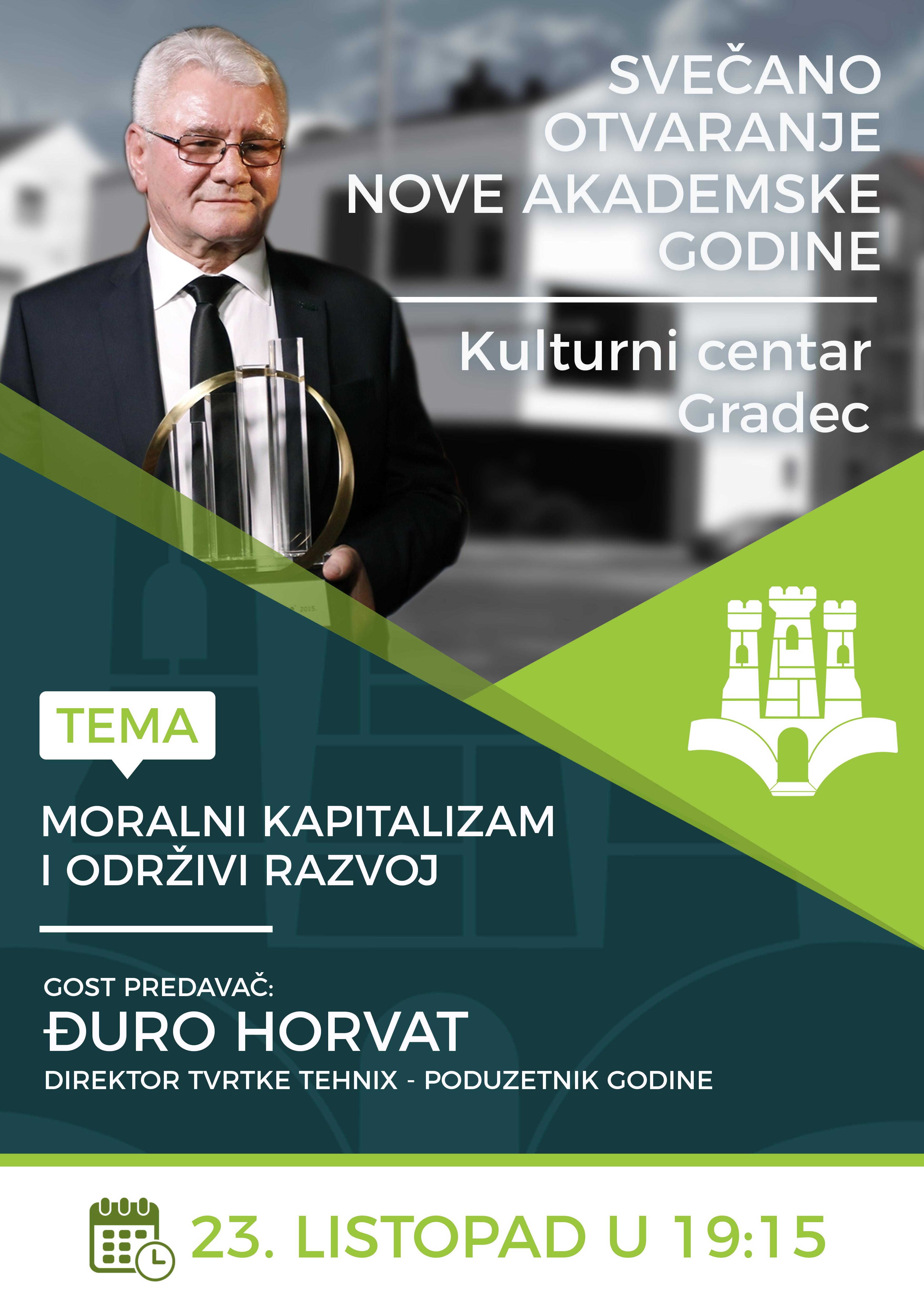 Svečano otvorenje akademske godine 2017./2018. u Gradecu
