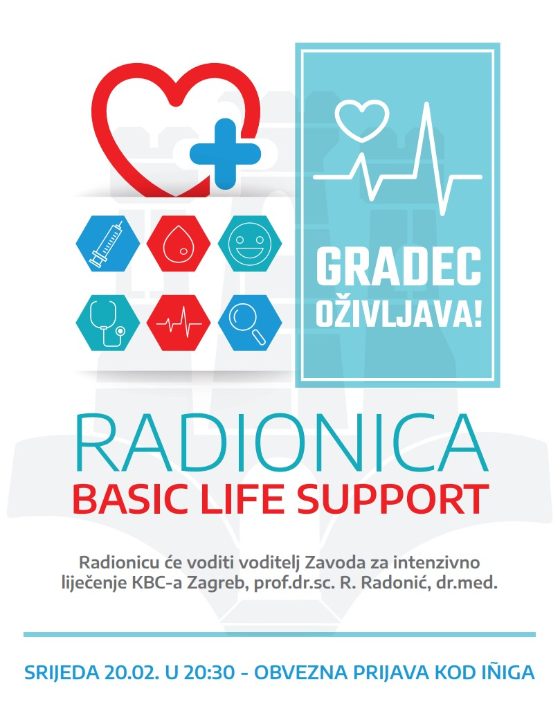 Basic life support – radionica