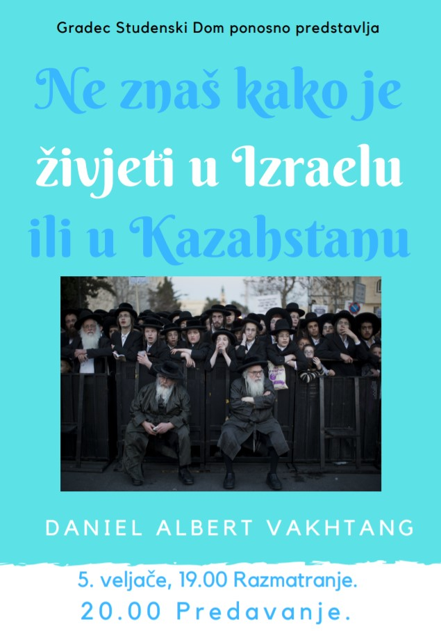 Predavanje o Izraelu i Kazahstanu